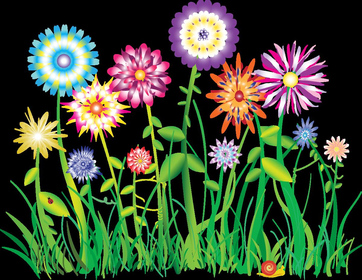 Цветные картинки для детей из цветов