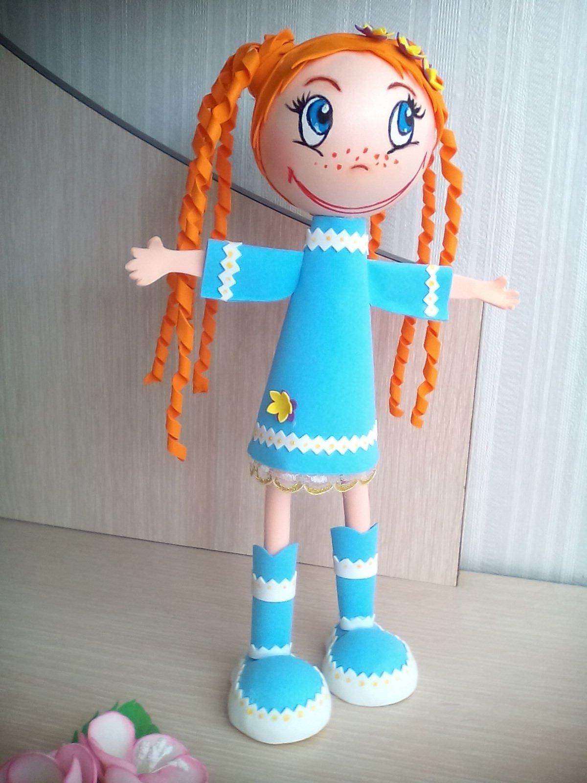 словам кукла из фоамирана своими руками все, чем