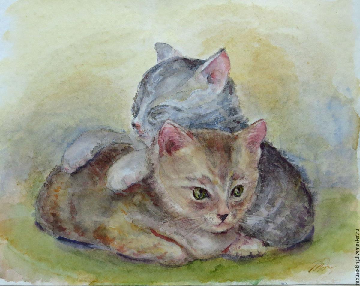 Рисунки кошки поэтапно гуашью рамонском районе