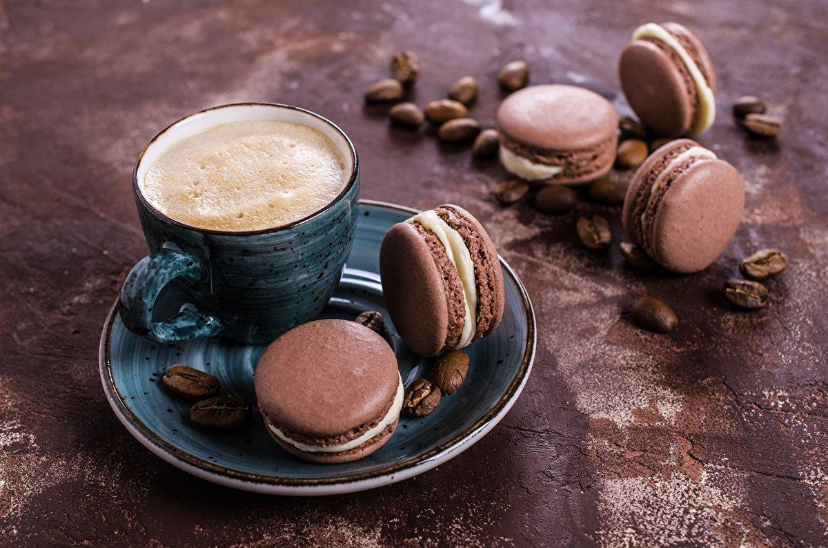 картинки кофе с печеньем лицевая панель
