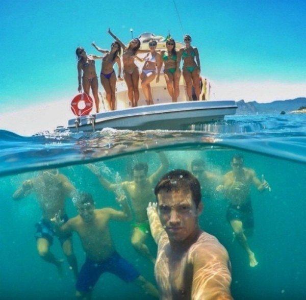 Идеи для фото на море селфи