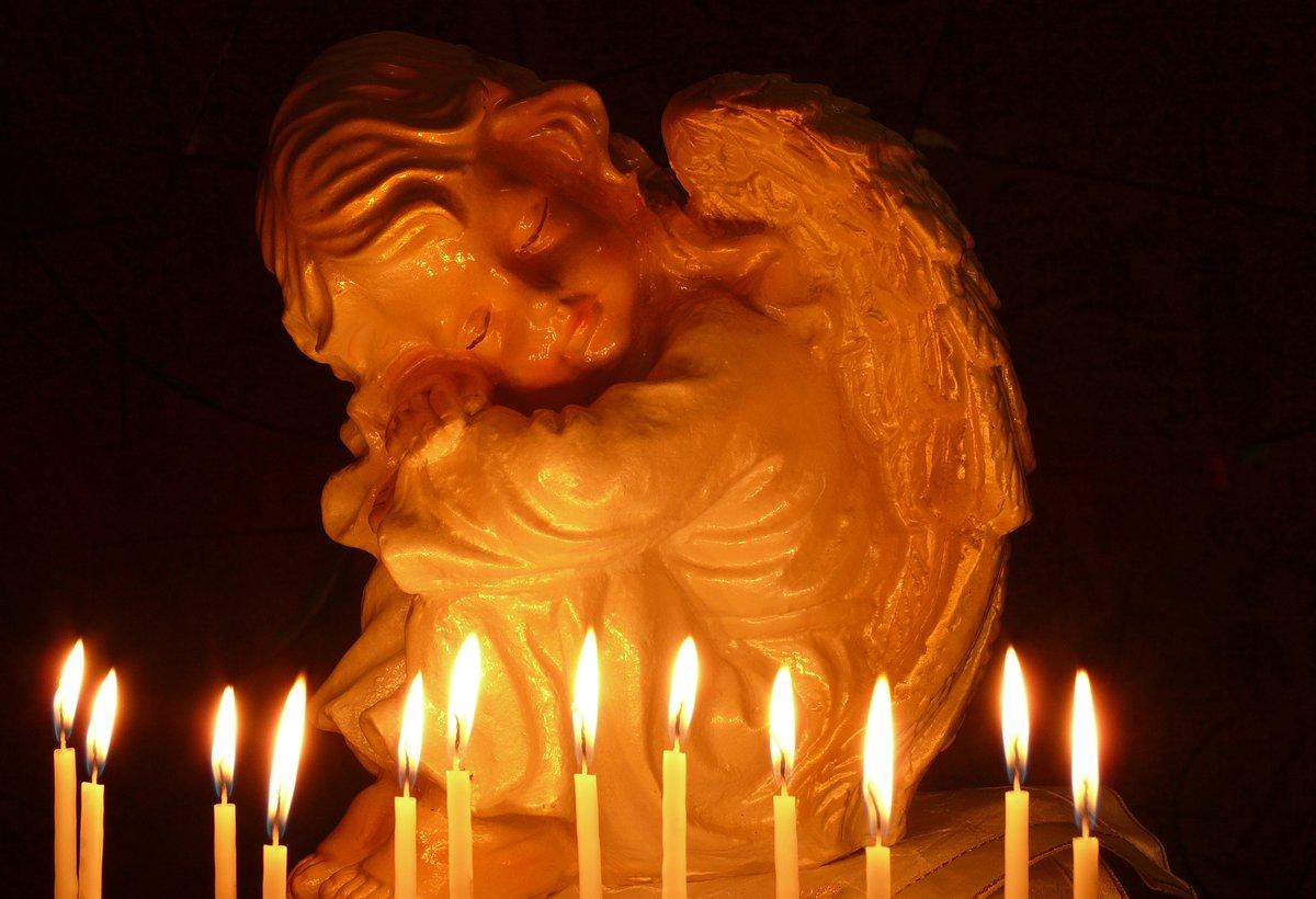 Картинки в память об умершем человеке с ангелом, для похмелья