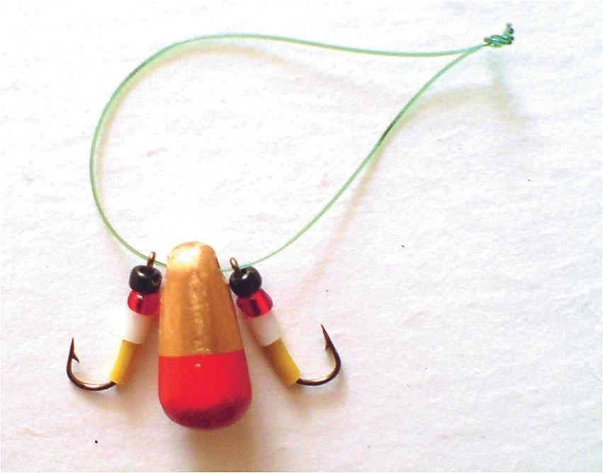 Оснастка на окуня балда