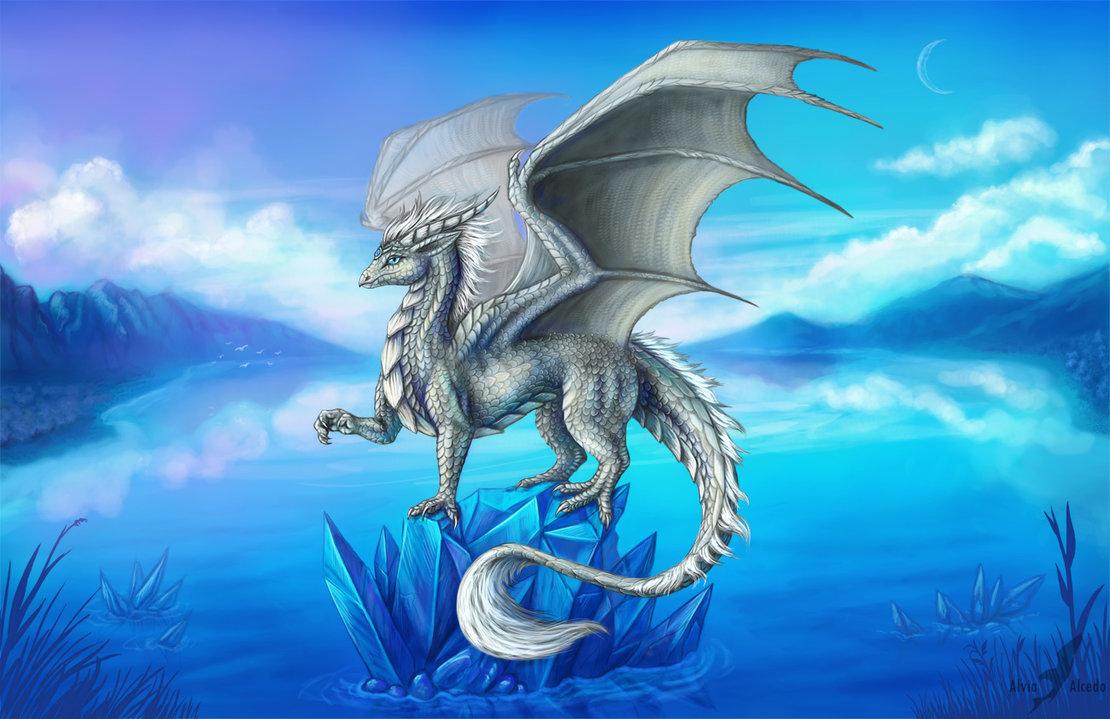 картинка красивые драконы конструкция