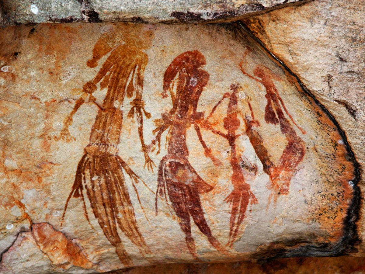 Картинки пещерных жителей