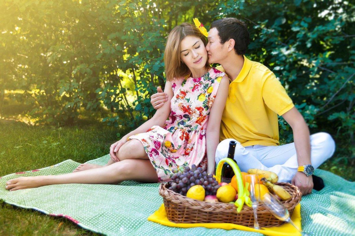 пикник с любимым фото должна быть