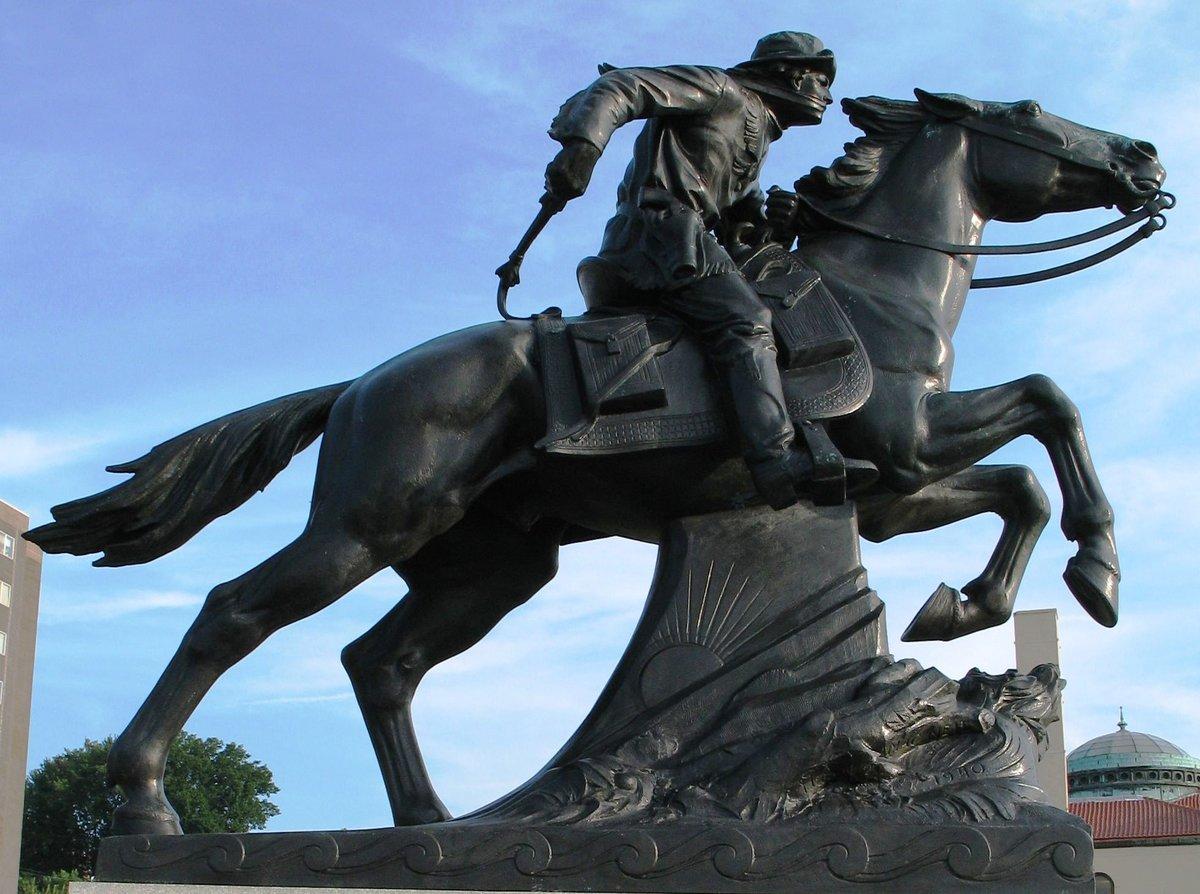 3 апреля 1860 года в США открылась регулярная трансконтинентальная почтовая служба «Пони-экспресс»