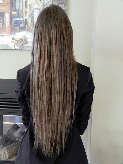 тому фото девушек с натуральным цветом волос сзади красивая