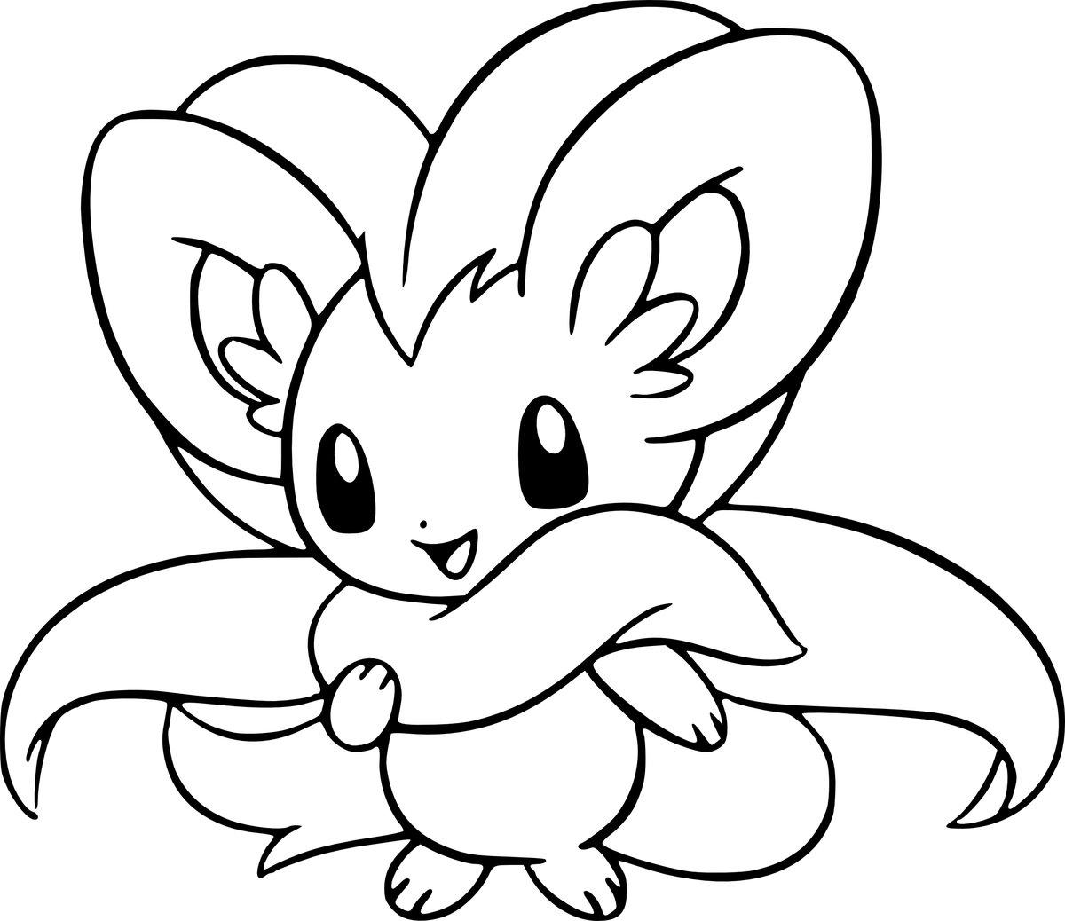 Рисунки из покемонов
