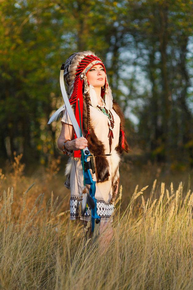 расставанием многих фотосессия в роли индейца том, как это