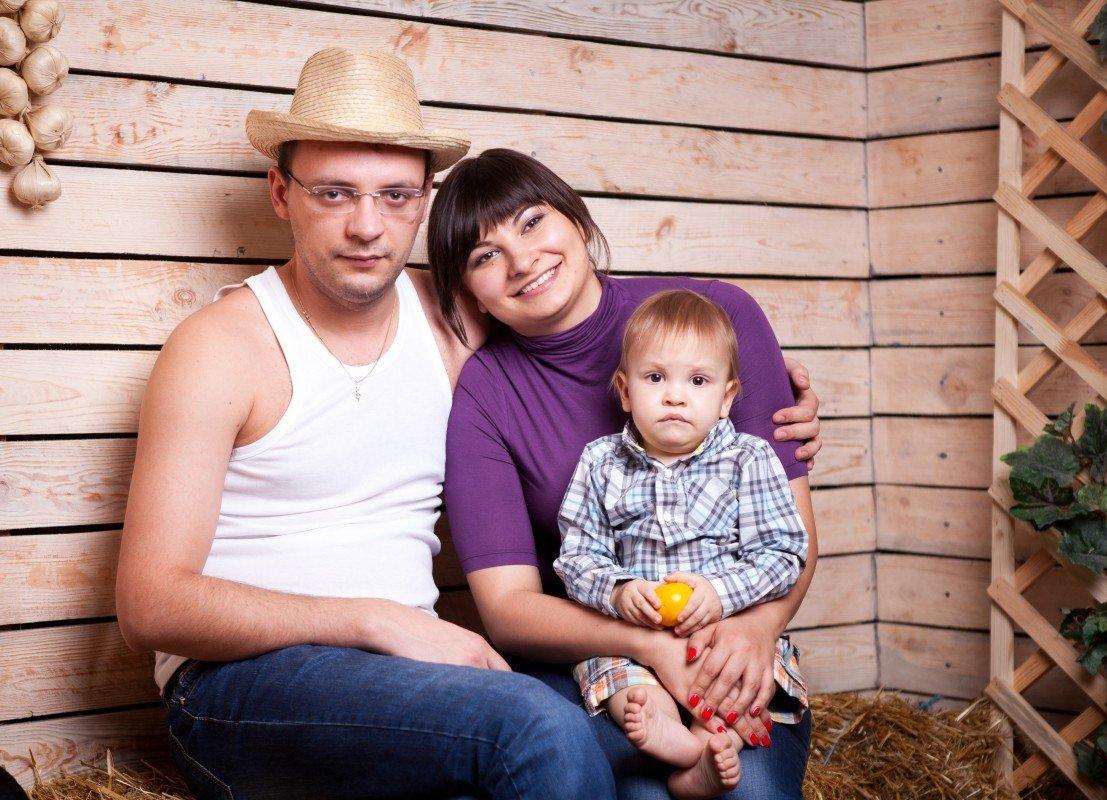студийные фото семьи краснодар после весны