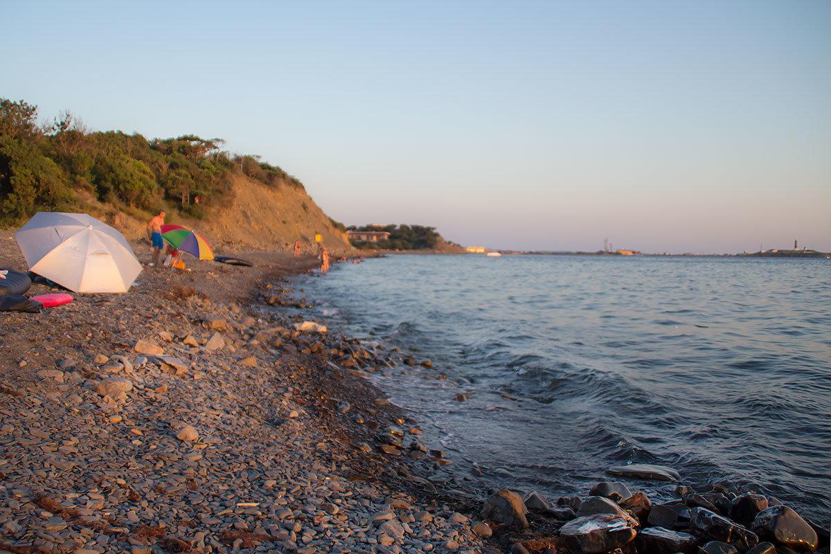 Дикий пляж в анапе фото