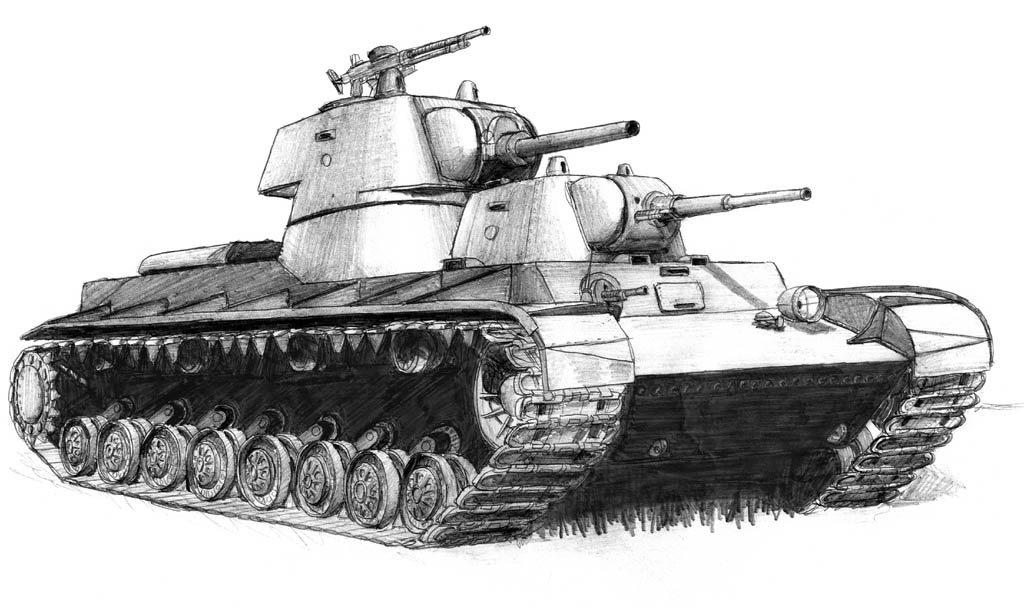 Картинки танки нарисованные