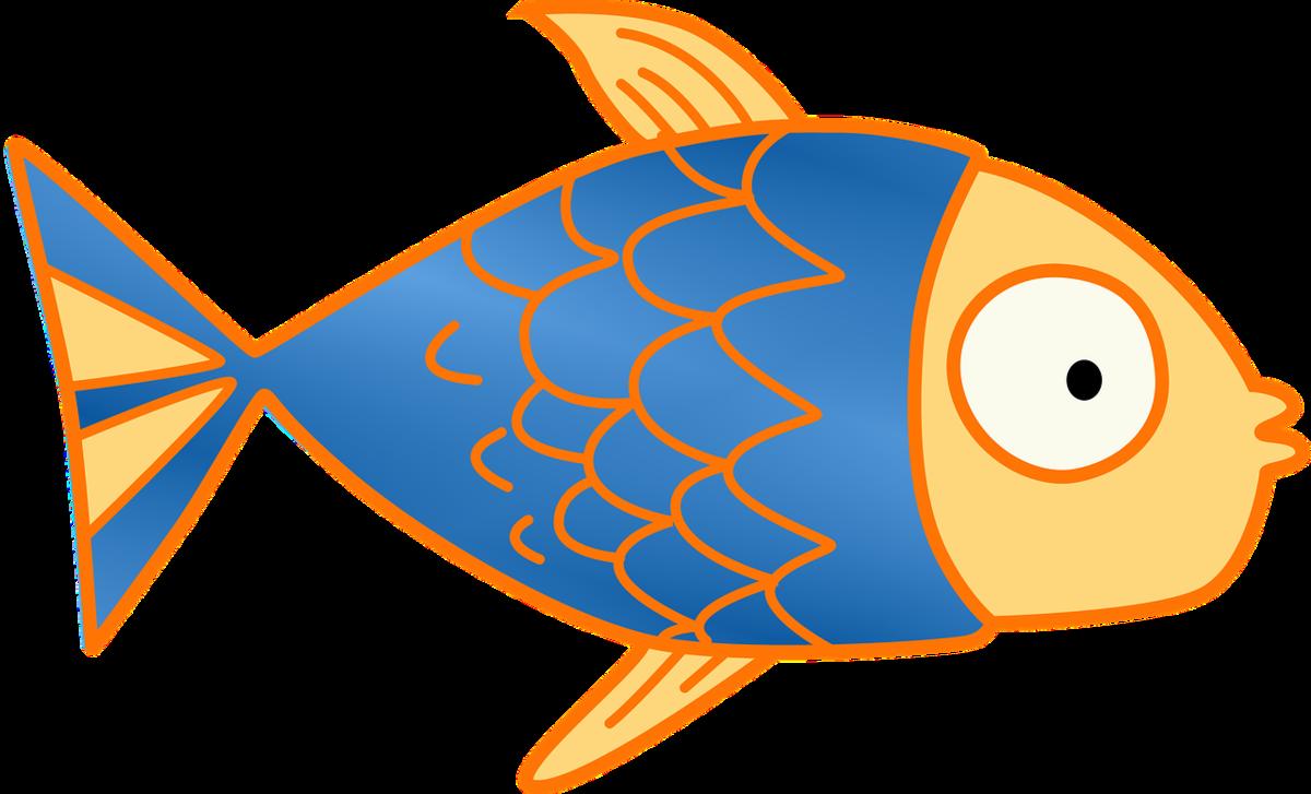 Картинка рыбки для детей