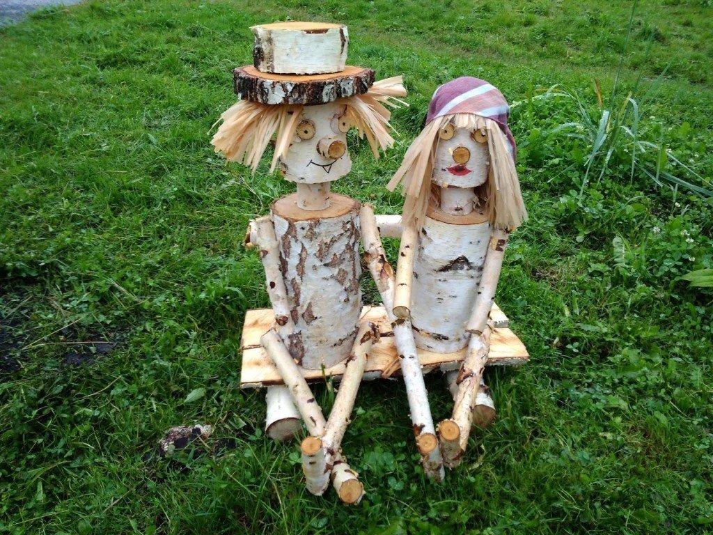 женские фото деревянных человечков на участок крючкова
