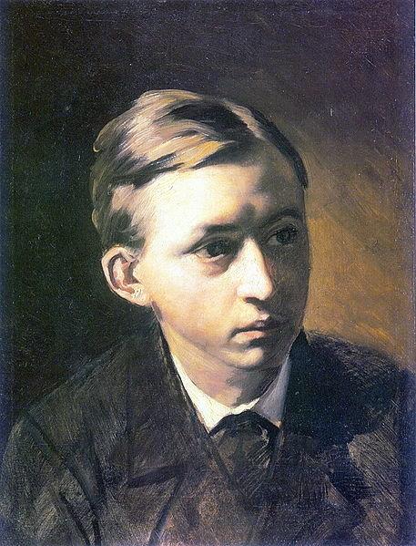 Портрет кисти В. Г. Перова. 1876 г.