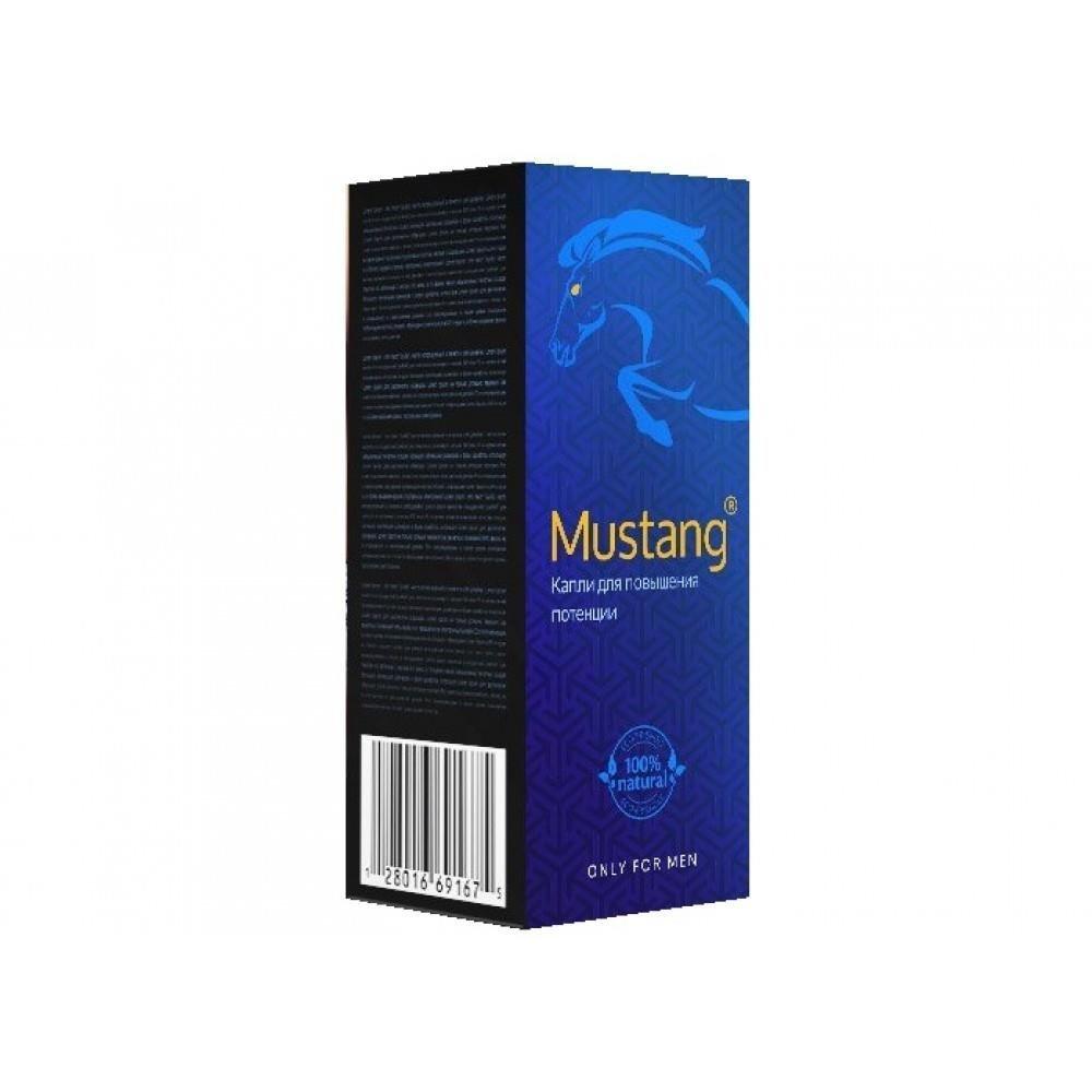 Mustang капли для повышения потенции в Чернушке