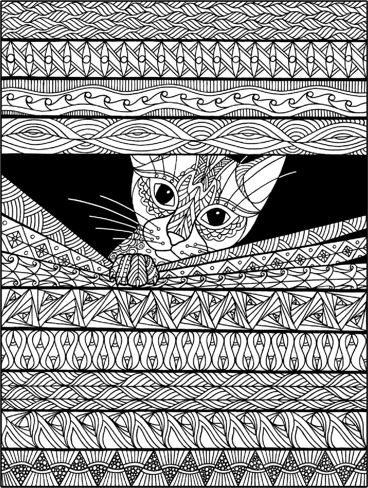 «Раскраски антистресс кошки» — карточка пользователя ...