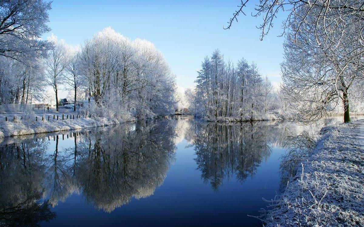 Картинка природа начало зимы