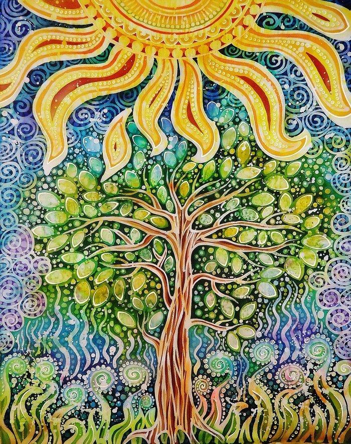 Дерево жизни картинки по изо