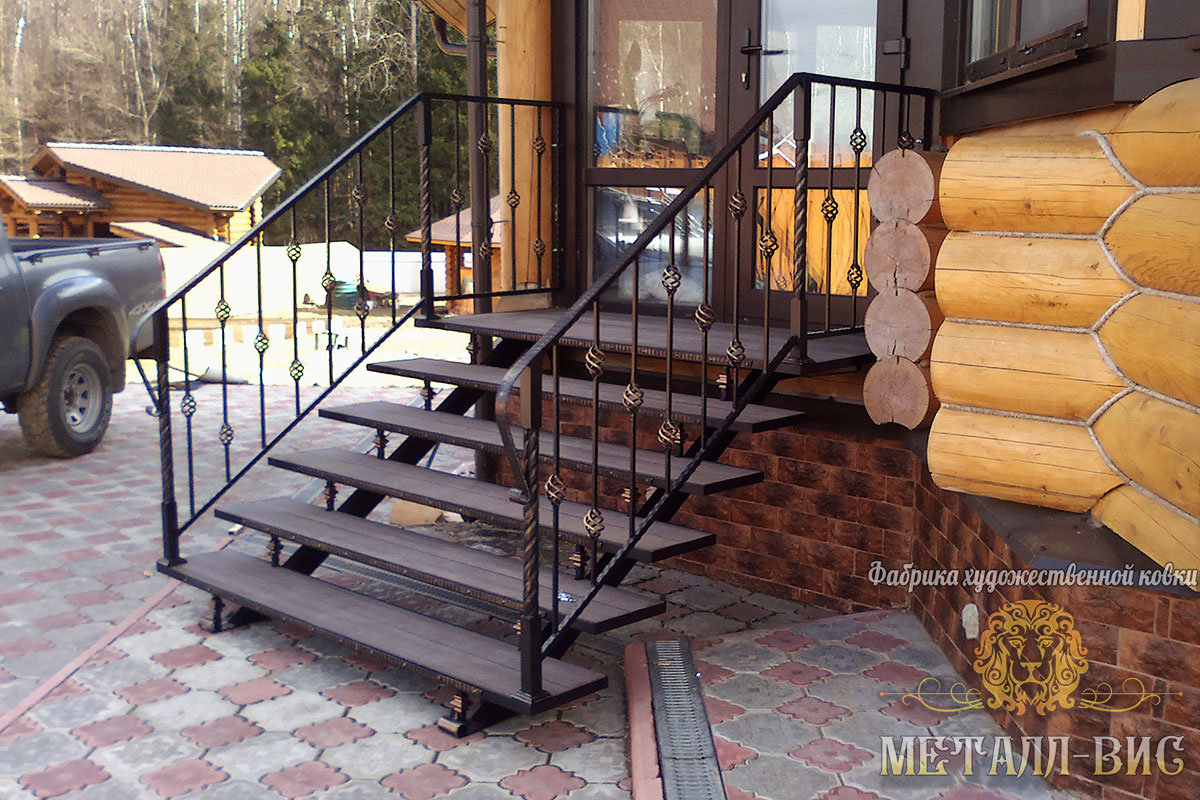 кованые лестницы на крыльцо фото порой хочется дарить
