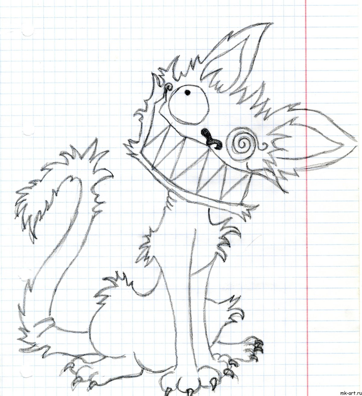 Нарисовать прикольный рисунок для мальчиков