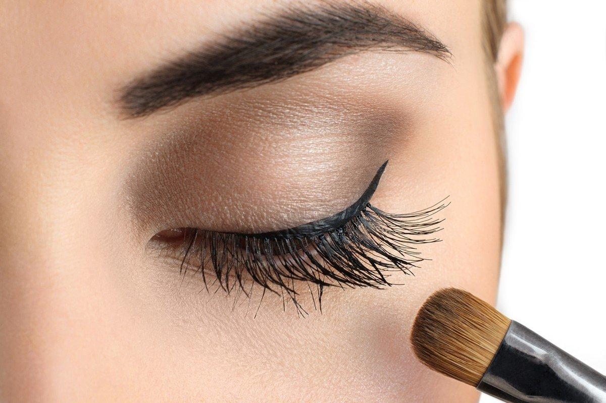 картинка ресниц и макияжа глаз