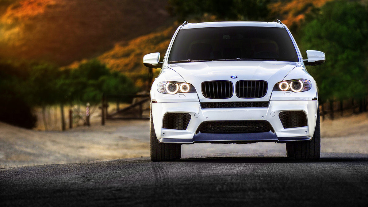 Bmw X5m Tuning Bmw X5 Car Front View 4k Widescreen Wallpaper Card