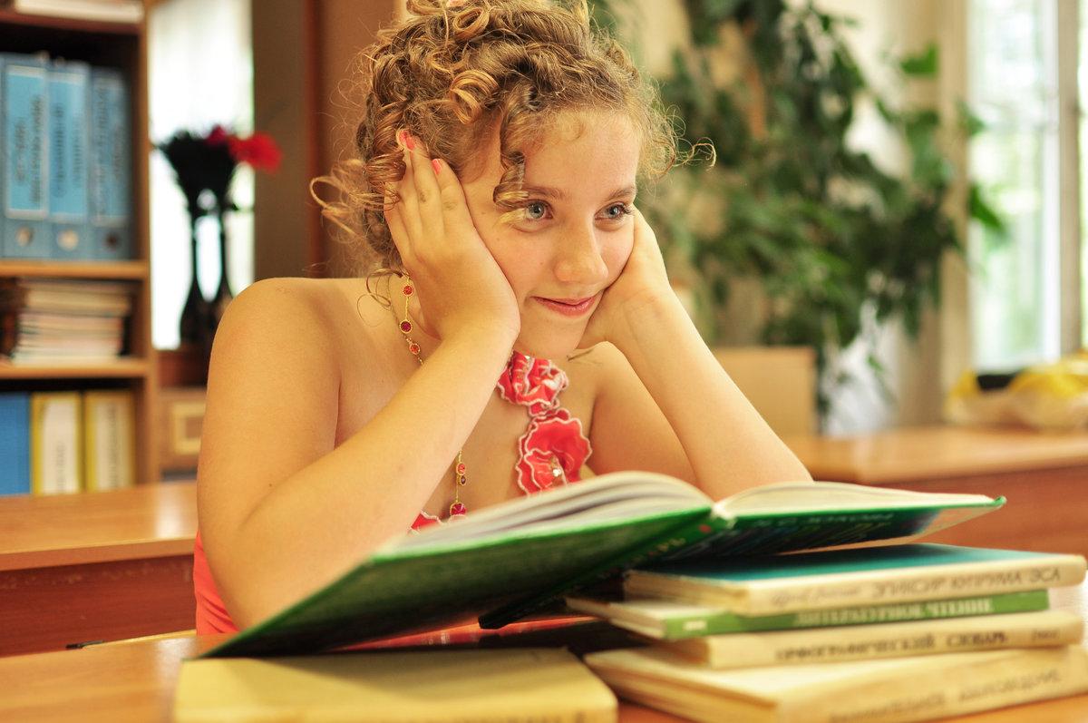 Картинки учеба девушка