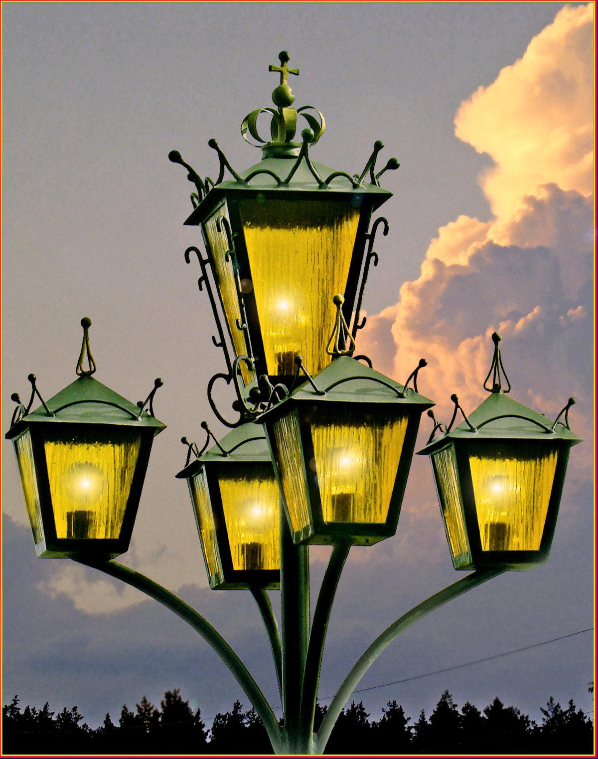красивые картинки с цветным фонарем когда