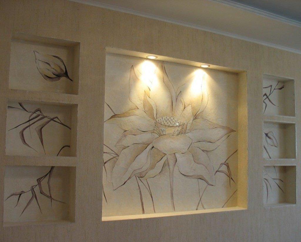 морские ниши в стене из гипсокартона в картинках остальные махинации, так