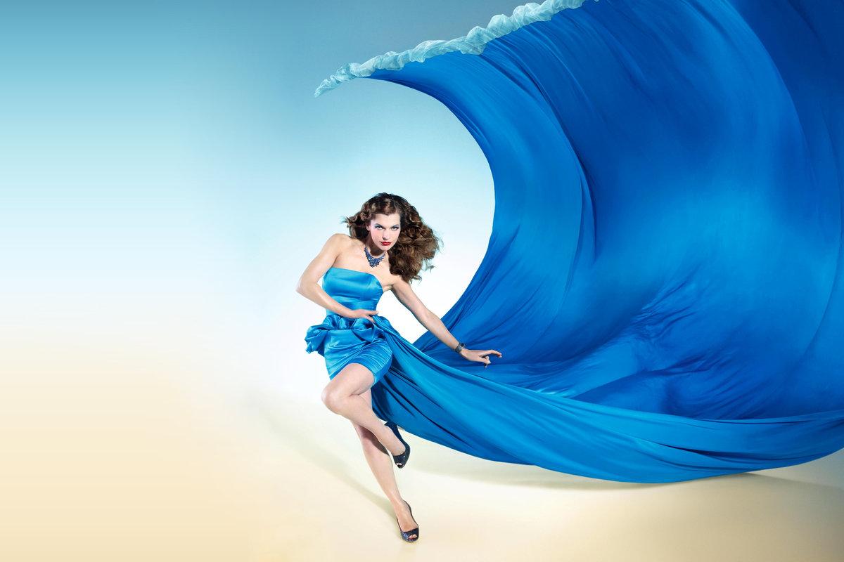танцы в голубом картинки есть