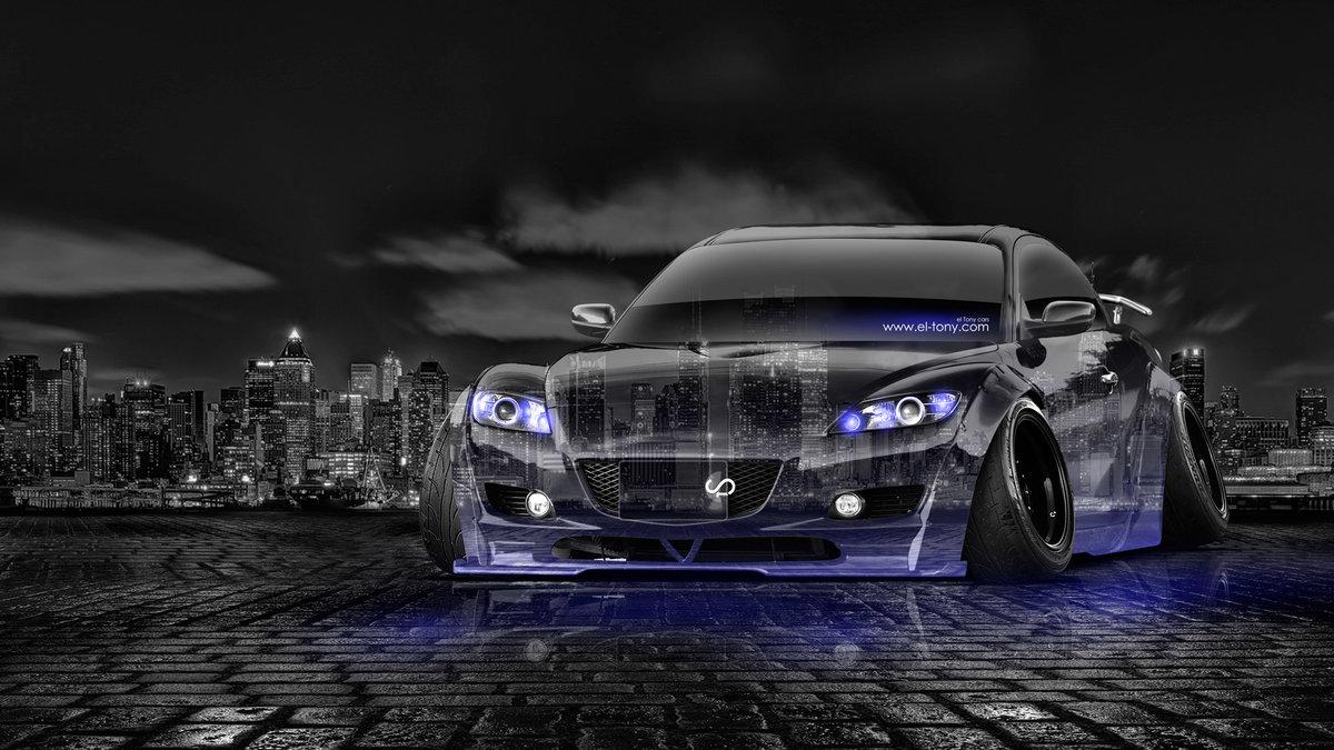 Mazda RX8 JDM Tuning Crystal City Car 2014