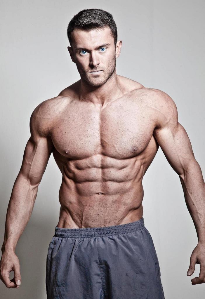 девушка красивые мужчины спортивного телосложения мужики