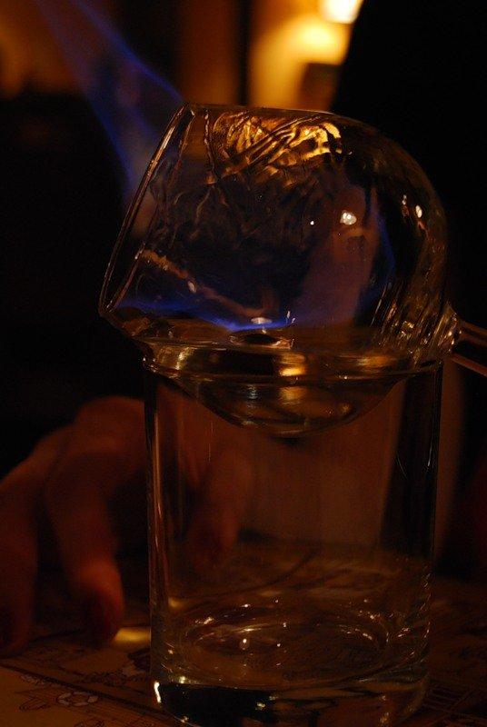 Самбука огонь и вода
