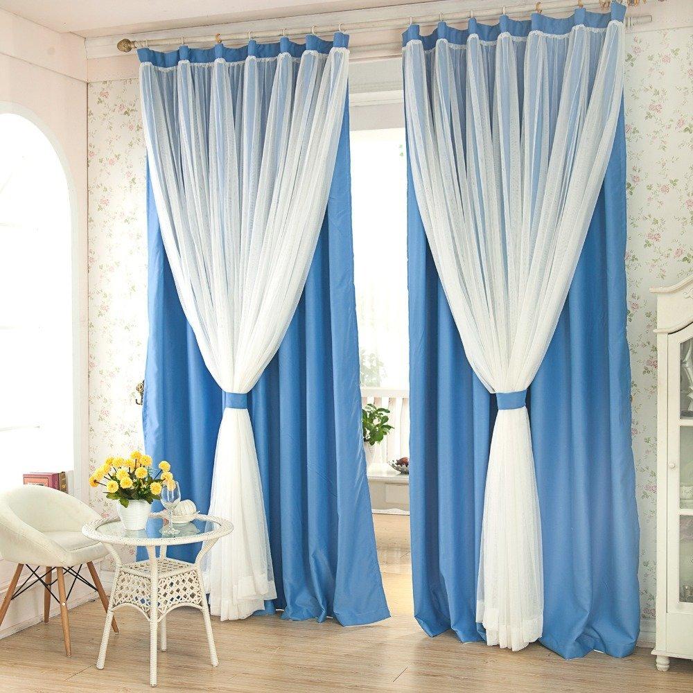 шторы для гостиной пошив своими руками - 10