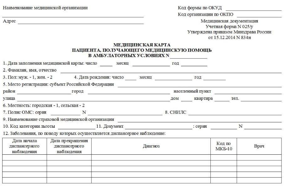приписки в медицинских картах наказание