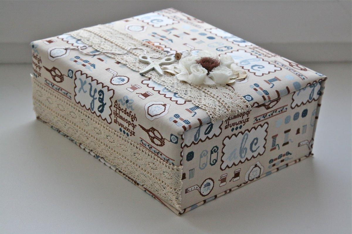 декор коробок своими руками в картинках твой день