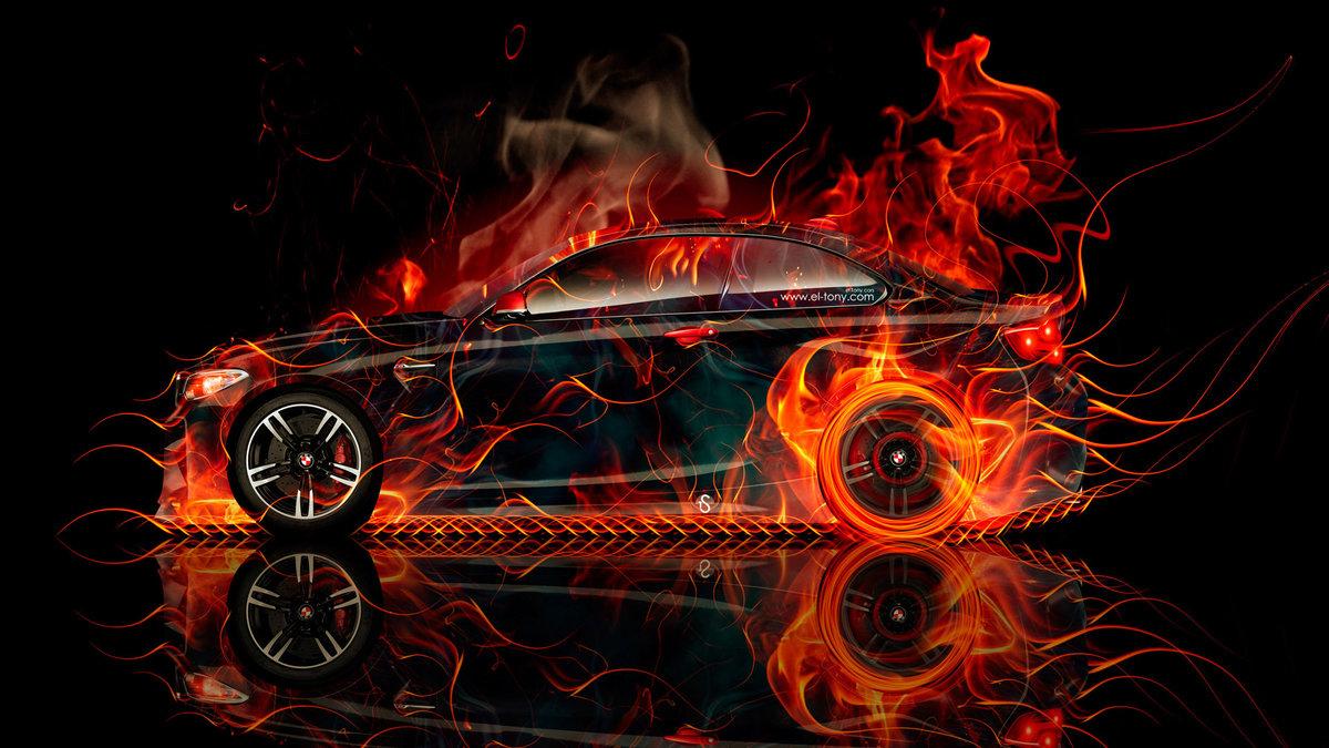 которые авто в огне картинки фоне
