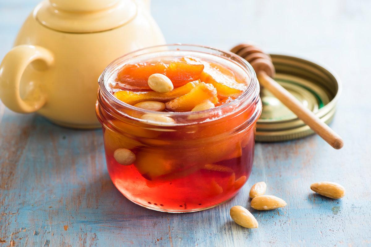 персиковый джем рецепт с фото пошагово стал
