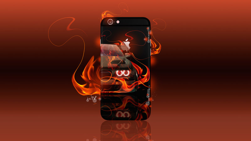 Great Apple IPhone 6 Plus Gadget AppleTony Back Logo