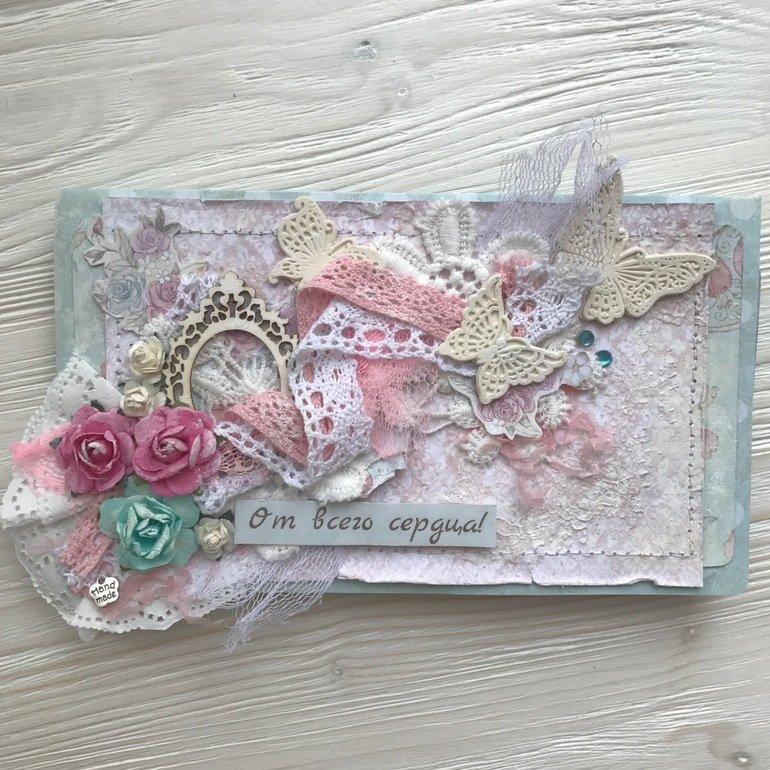 Открыток, открытка с деньгами скрапбукинг