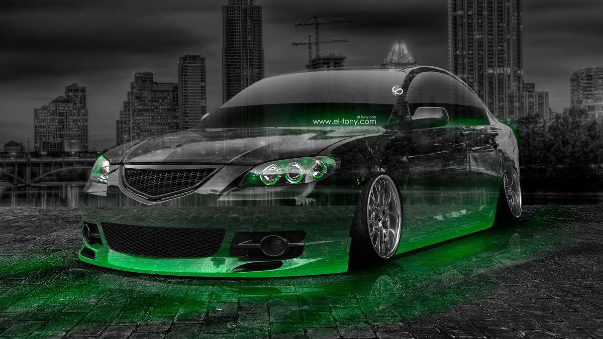 Mazda 3 GT JDM Crystal City Car 2014