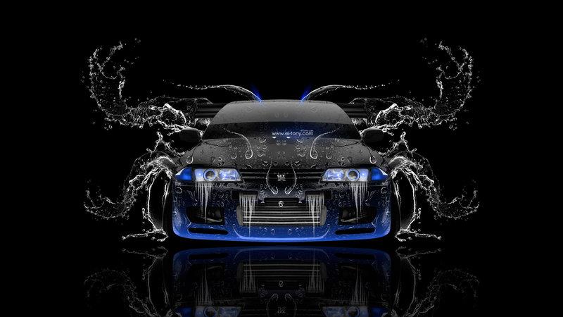 Nissan Skyline GTR R32 JDM Front Water Car