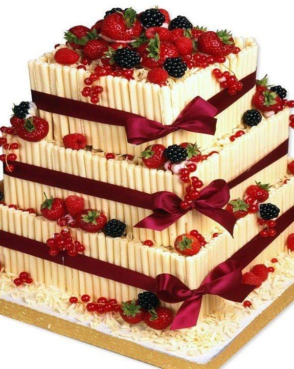 Красивый торт на день рождения картинка