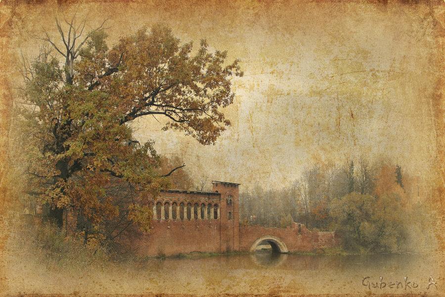 Картинки, пейзаж старинные открытки