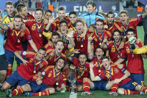 Отборочный чемпионат мира по футболу 2010г. сборная испании