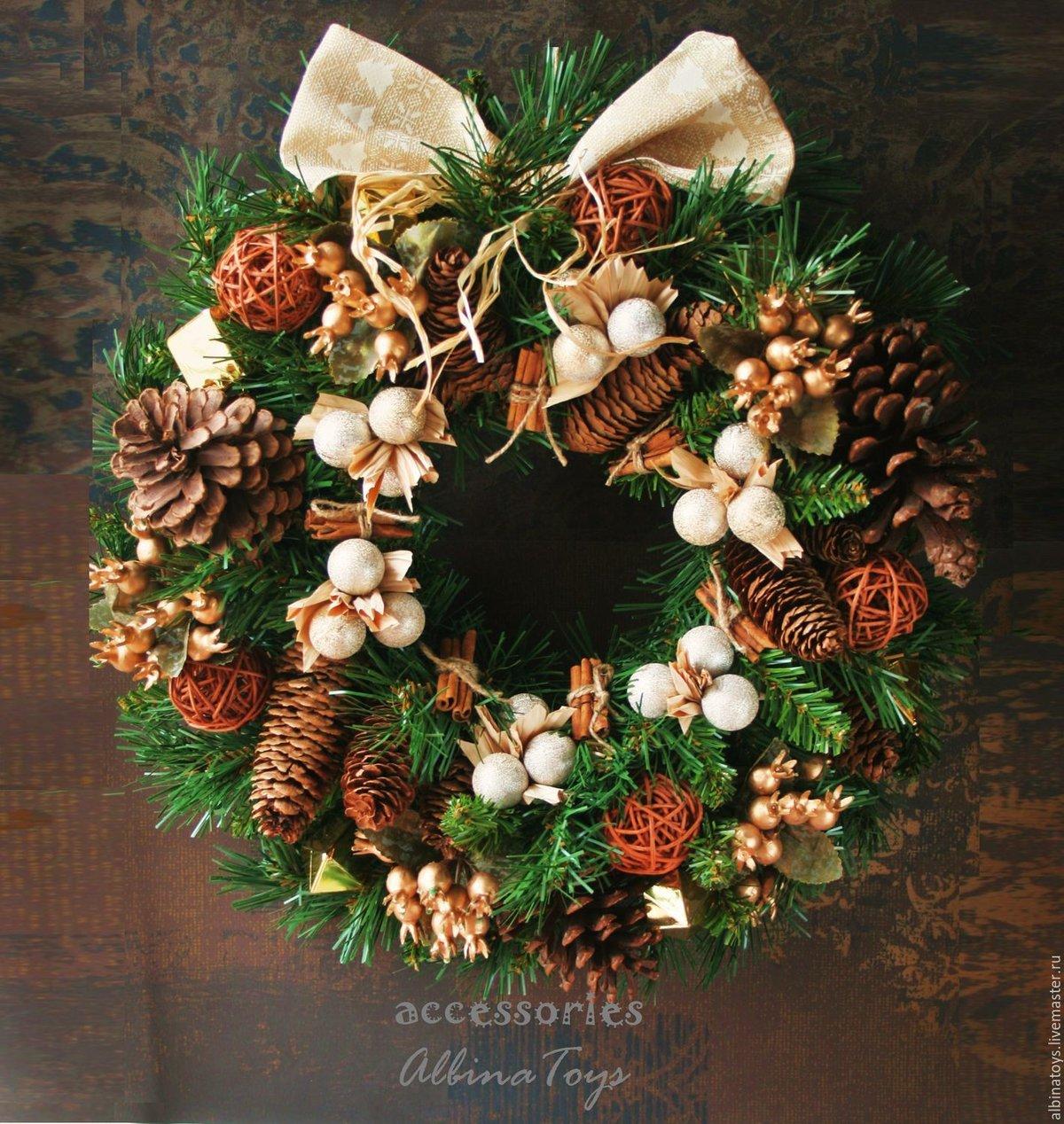 Меня любишь, рождественские венки красивые