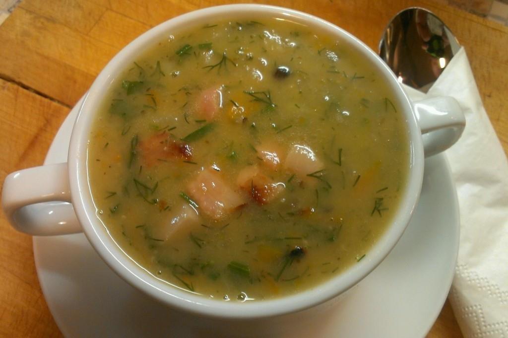 Сварить вкусный гороховый суп
