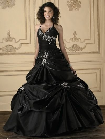 53d29c5ed8 ... Check out the deal on Black Quinceanera Dresses House of Wu Quince  Collection 26609 at French